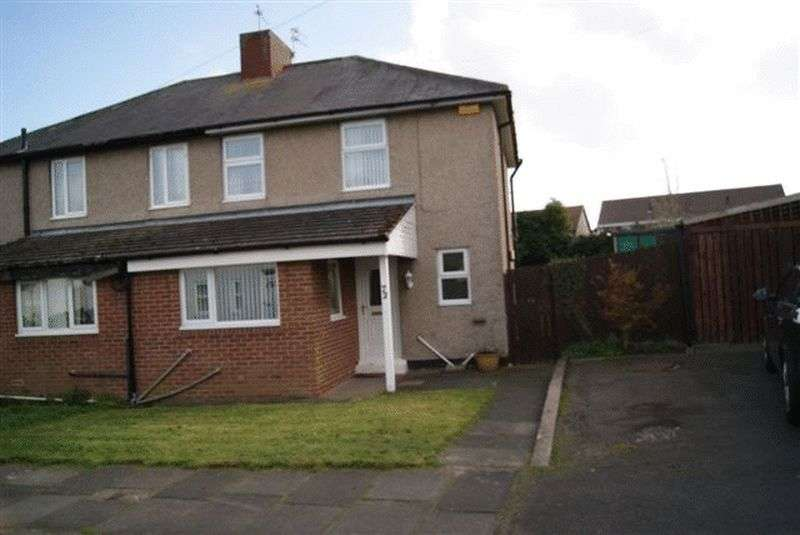 3 Bedrooms Semi Detached House for sale in The Crescent, Seghill