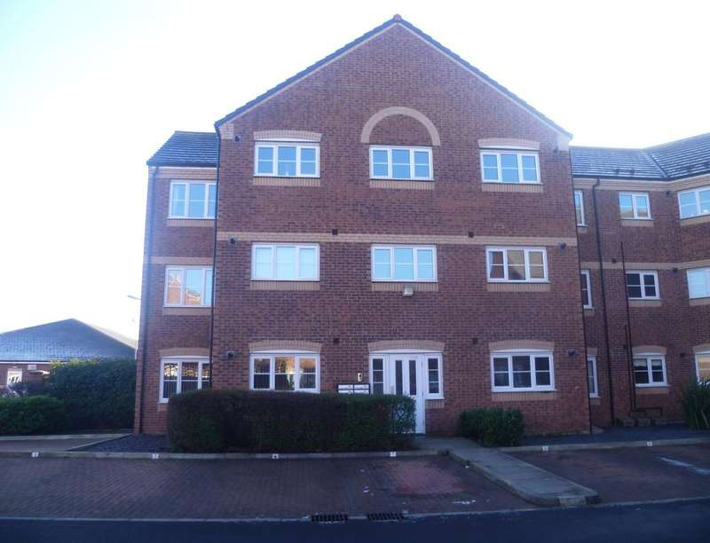 2 Bedrooms Flat for sale in Rockingham Court, Middlesbrough, TS5