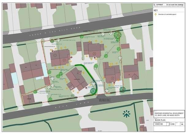 Land Commercial for sale in Development plot at Back Lane, Nomans Heath, Malpas, Cheshire