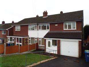 3 Bedrooms Semi Detached House for sale in Burgoyne Street, Cannock, Staffordshire