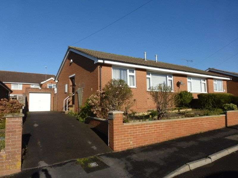 2 Bedrooms Semi Detached Bungalow for sale in Southway Drive, Yeovil