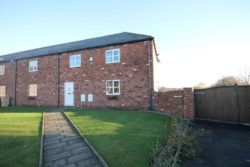 4 Bedrooms Semi Detached House for sale in Moss Hall Farm Cottages, Wingates, Bolton, Lancashire.