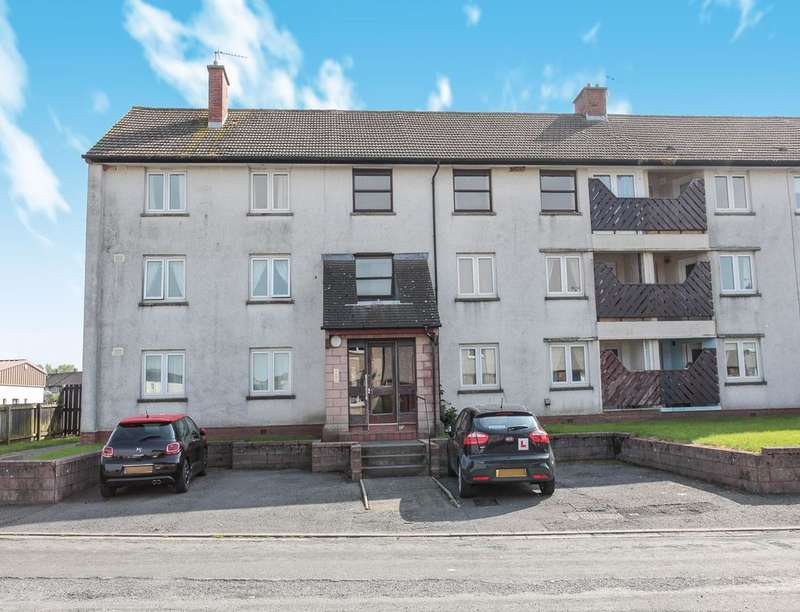 2 Bedrooms Flat for sale in Rankine Avenue, Dumfries, DG2