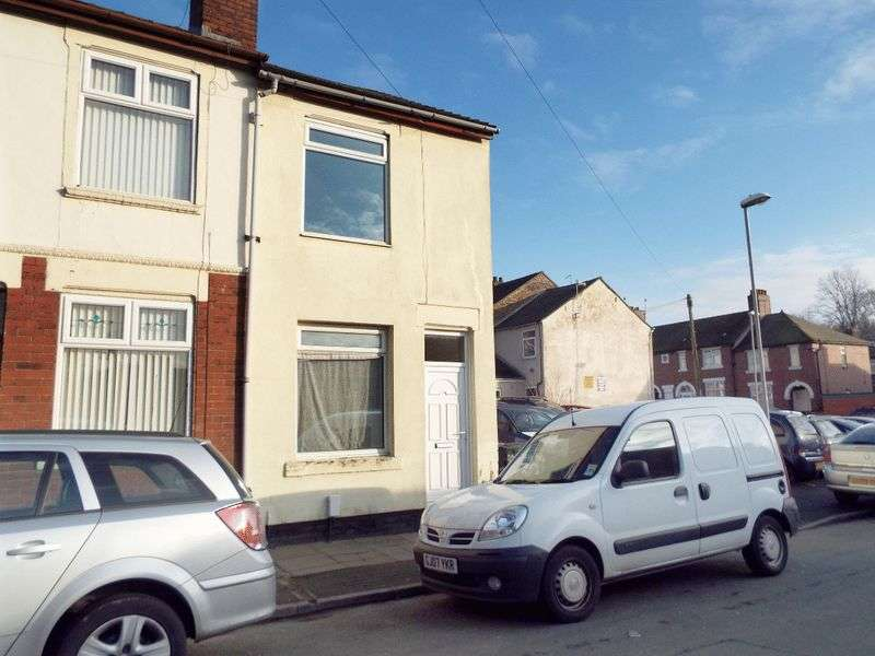 2 Bedrooms Terraced House for sale in Castlefield Street, Stoke-On-Trent