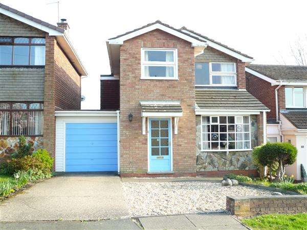 3 Bedrooms Detached House for sale in ROCESTER AVENUE, Wednesfield, Wednesfield