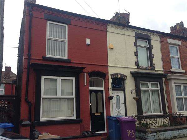 2 Bedrooms Terraced House for sale in July Road, Liverpool