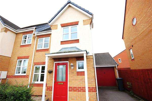 3 Bedrooms Semi Detached House for sale in Hamilton, Leicester LE5