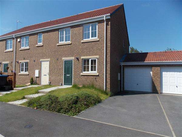 3 Bedrooms Semi Detached House for sale in Finchale View, West Rainton
