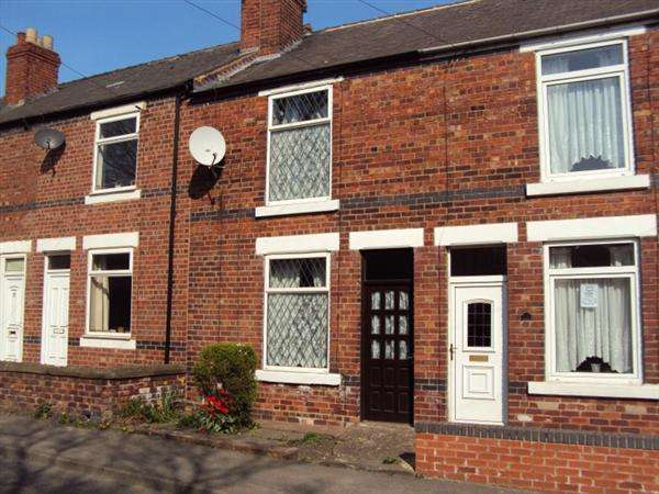 2 Bedrooms Terraced House for sale in Creswell Road, Clowne, Chesterfield