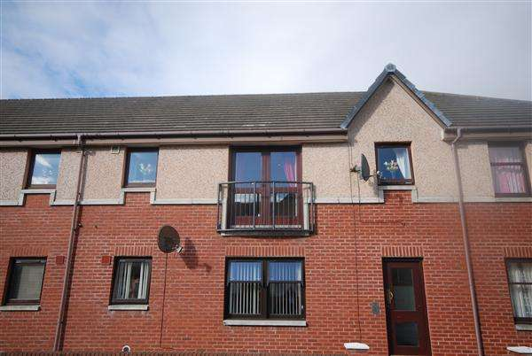 2 Bedrooms Apartment Flat for sale in St Johns Place, Ardrossan