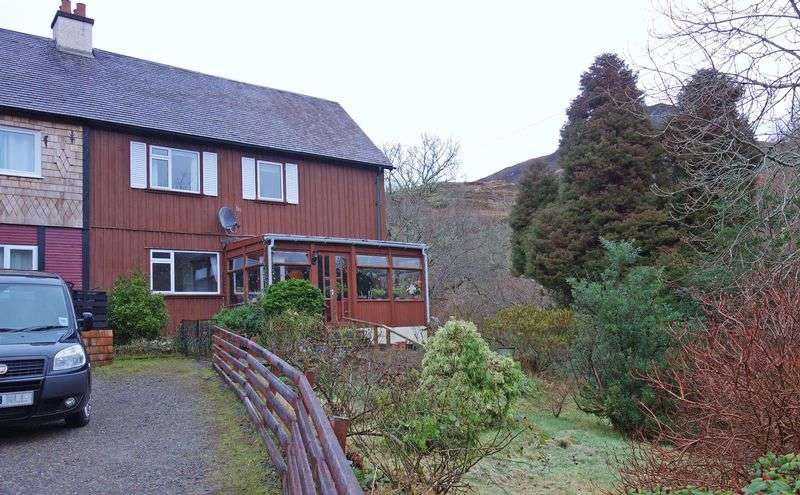 3 Bedrooms Semi Detached House for sale in 3 good bedrooms, oil CH, DG, 6 miles south of Kyle