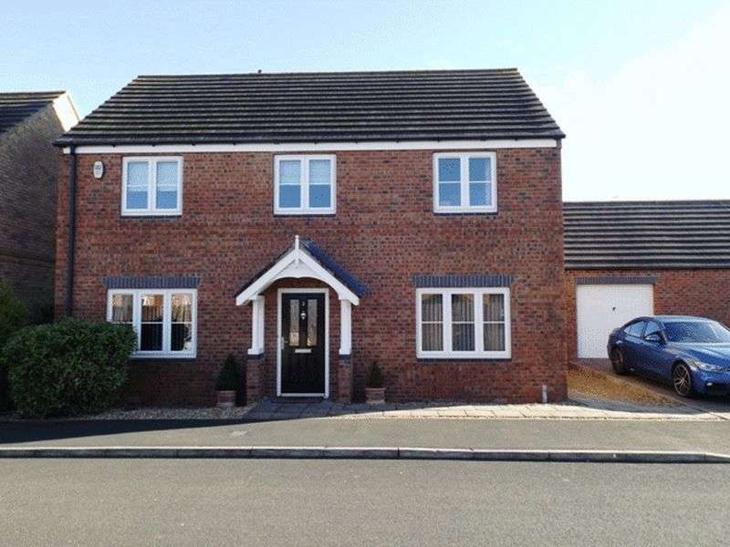 4 Bedrooms House for sale in The Willows, Bedlington - Four Bedroom Detached House