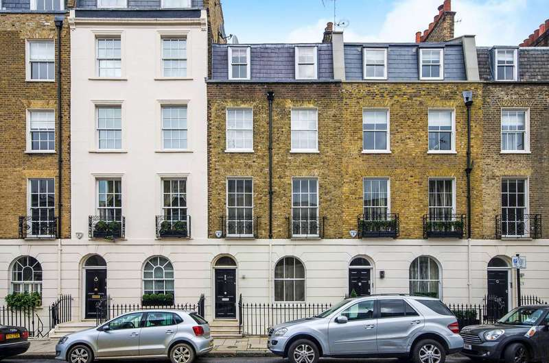 4 Bedrooms House for sale in Eaton Terrace, Belgravia, SW1W