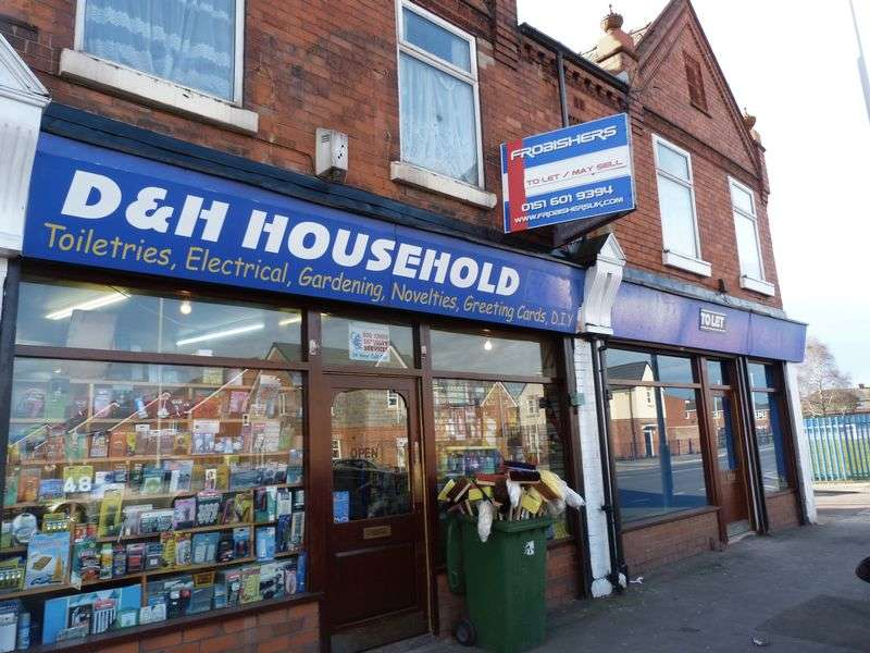 Property for sale in VACANT RETAIL UNIT. BIRKENHEAD.