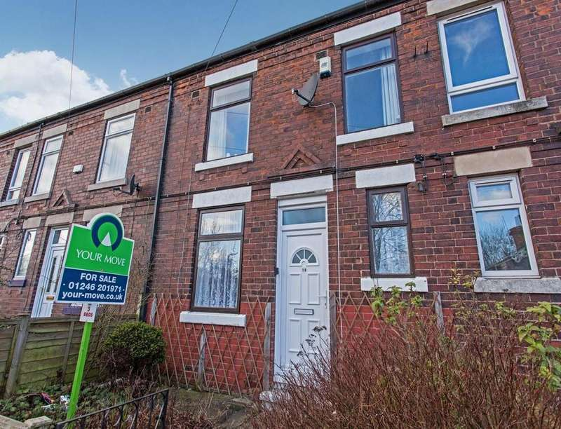 3 Bedrooms Property for sale in Devonshire Terrace, Holmewood, Chesterfield, S42