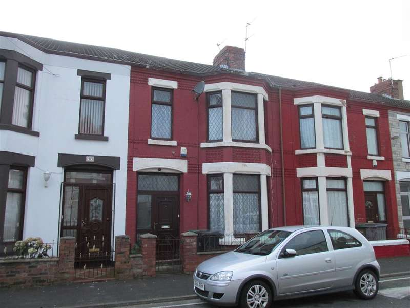 3 Bedrooms Terraced House for sale in Harcourt Avenue, Wallasey