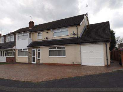 6 Bedrooms Semi Detached House for sale in Conway Crescent, Willenhall, West Midlands