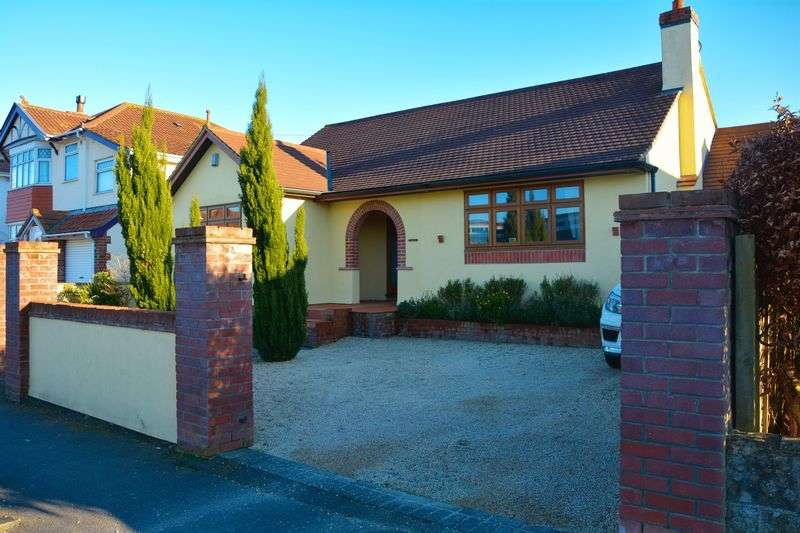 3 Bedrooms Detached Bungalow for sale in Woodspring Avenue, Weston-Super-Mare