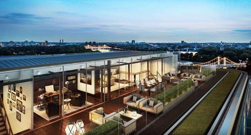 3 Bedrooms Property for sale in Penthouse, Battersea Power Station.