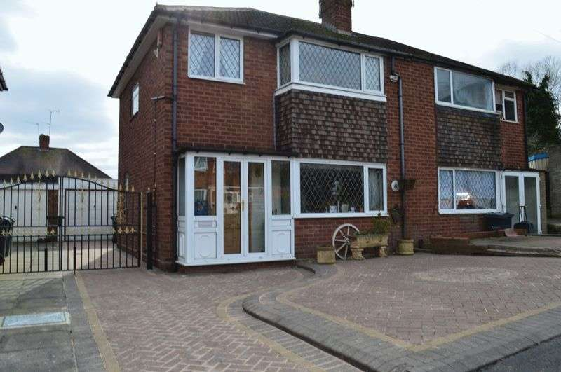 3 Bedrooms Semi Detached House for sale in Ash Drive, West Bromwich