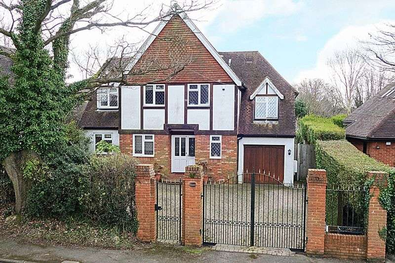 4 Bedrooms Detached House for sale in Green Lane, LOWER KINGSWOOD Tadworth