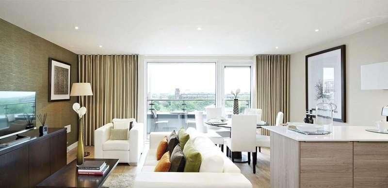2 Bedrooms Flat for sale in Marine Wharf, Plough Way, Surrey Docks, SE16