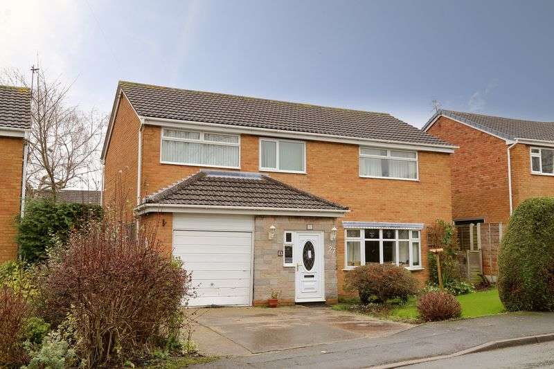 4 Bedrooms Detached House for sale in Langley Drive, Bayston Hill, Shrewsbury