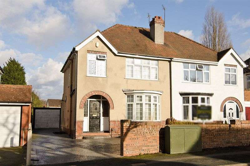 3 Bedrooms Semi Detached House for sale in Leighton Road, Wolverhampton