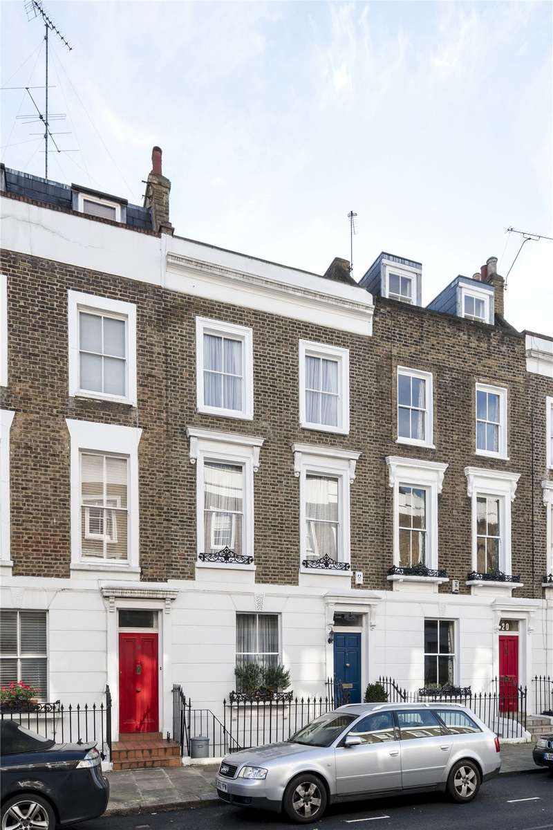 4 Bedrooms Terraced House for sale in Edis Street, London, NW1