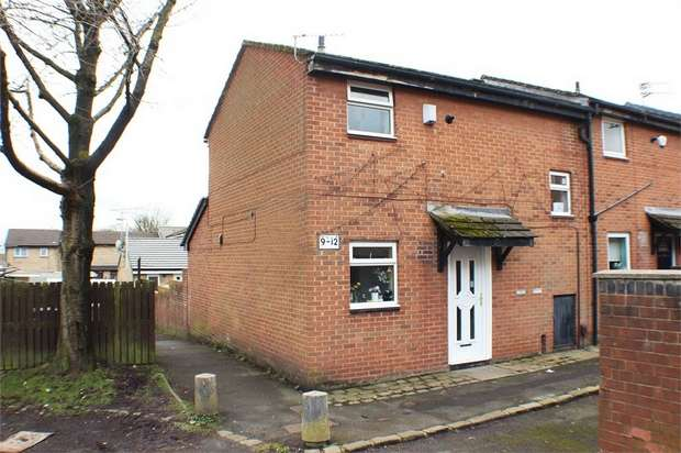 2 Bedrooms End Of Terrace House for sale in Purcell Close, Bolton, Lancashire