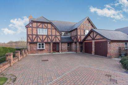 5 Bedrooms Detached House for sale in Bryn Rhyd, Northop, Mold, Flintshire, CH7