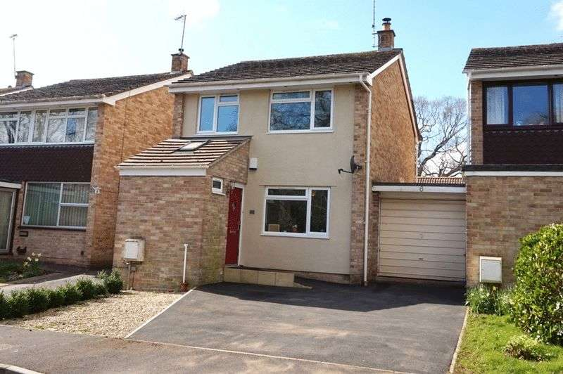 3 Bedrooms Detached House for sale in Longacre Close, Taunton