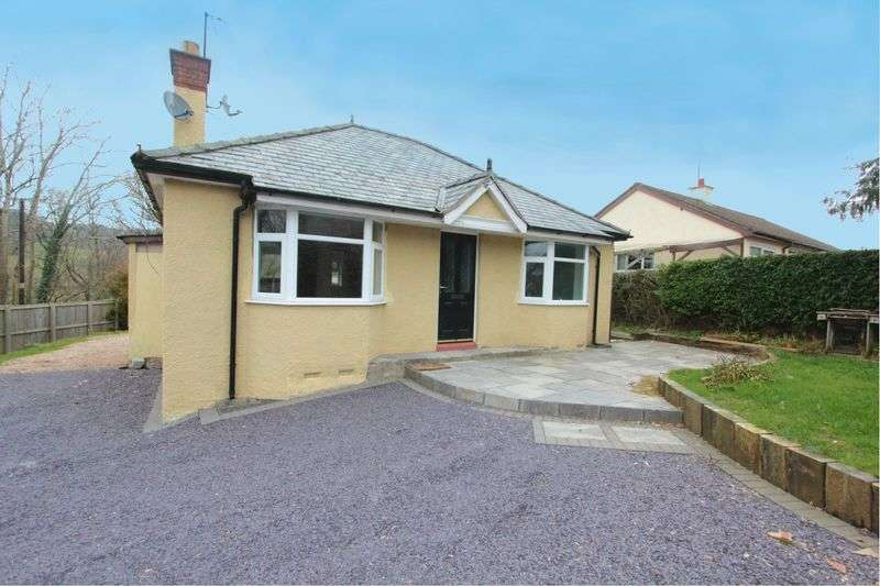 2 Bedrooms Detached Bungalow for sale in Llansannan, Denbigh