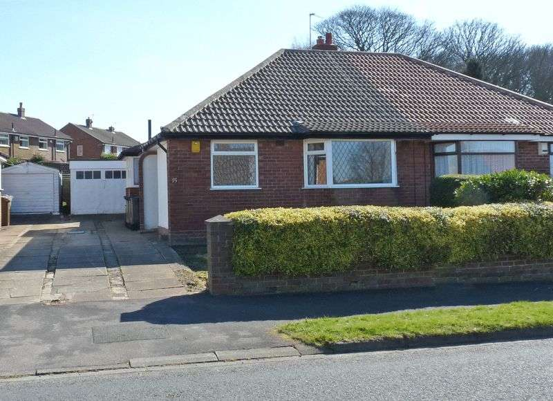 2 Bedrooms Semi Detached Bungalow for sale in Grove Farm Crescent, Cookridge, Leeds LS16 6BZ 2 Bedroom Semi-Detached Bungalow with Drive and Garage