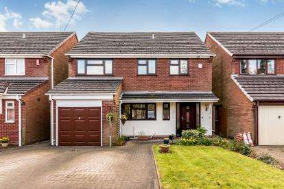 4 Bedrooms Detached House for sale in Coachmans Walk, Bellamour Way, Colton, Staffordshire