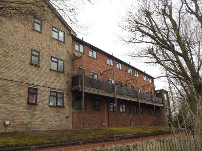 2 Bedrooms Flat for sale in Langdale Court, Moor Lane, Tamworth, Staffordshire