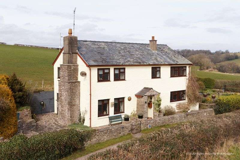4 Bedrooms Detached House for sale in Llanvetherine, Abergavenny