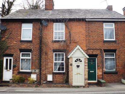 2 Bedrooms Terraced House for sale in Knutsford Road, Holmes Chapel, Crewe, Cheshire