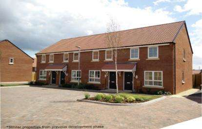 2 Bedrooms House for sale in Monkton Heathfield