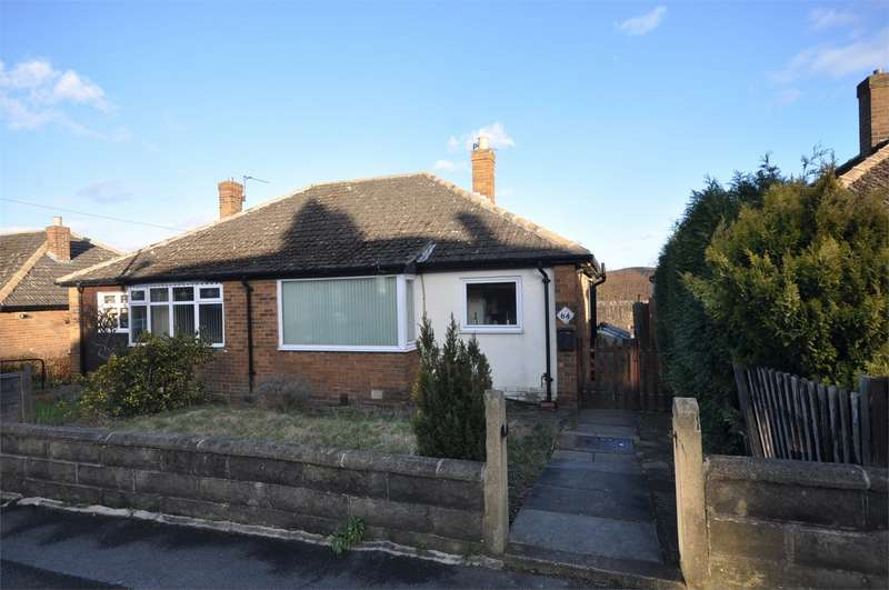 2 Bedrooms Semi Detached Bungalow for sale in Ochrewell Avenue, Deighton, HUDDERSFIELD, West Yorkshire