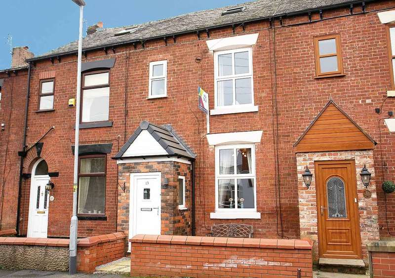 3 Bedrooms Terraced House for sale in 13 Springs Road, Middleton Junction