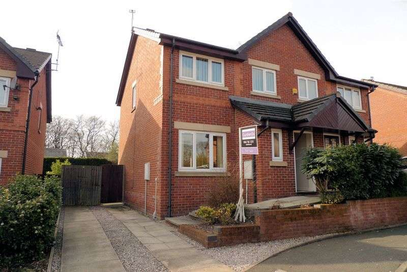 3 Bedrooms Semi Detached House for sale in Greengate Close, Bury