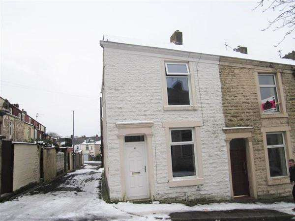2 Bedrooms End Of Terrace House for sale in Garnett St, Darwen