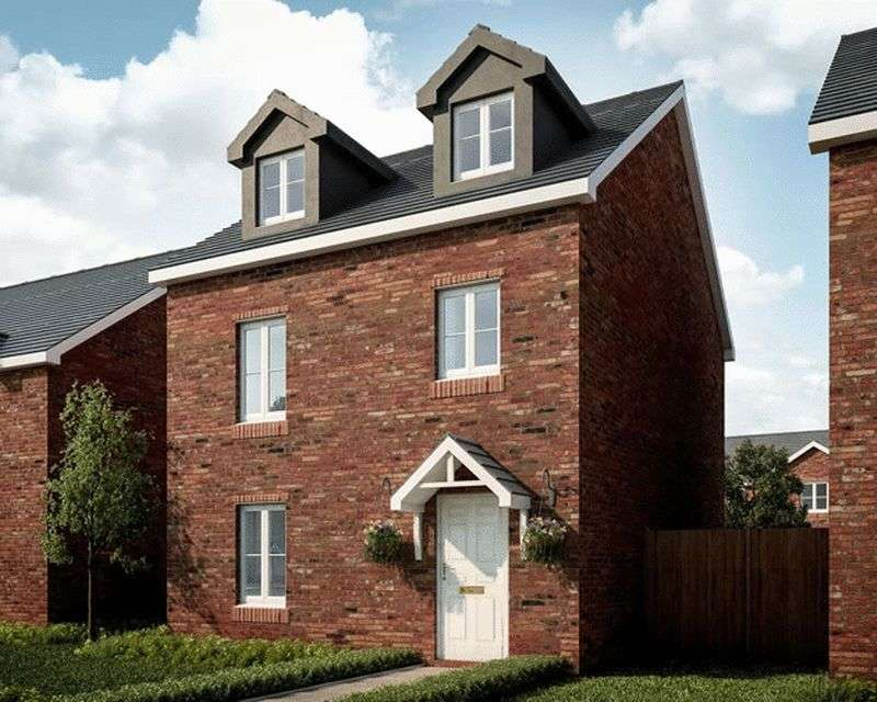 4 Bedrooms Detached House for sale in Plot 38 Ponthir Road Caerleon NP18 3NY