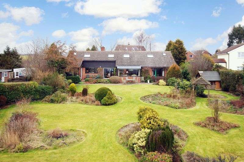 5 Bedrooms Detached Bungalow for sale in Spout Lane, Little Wenlock, Telford, Shropshire.