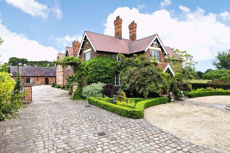 6 Bedrooms Detached House for sale in White Hall Lane, Sandbach