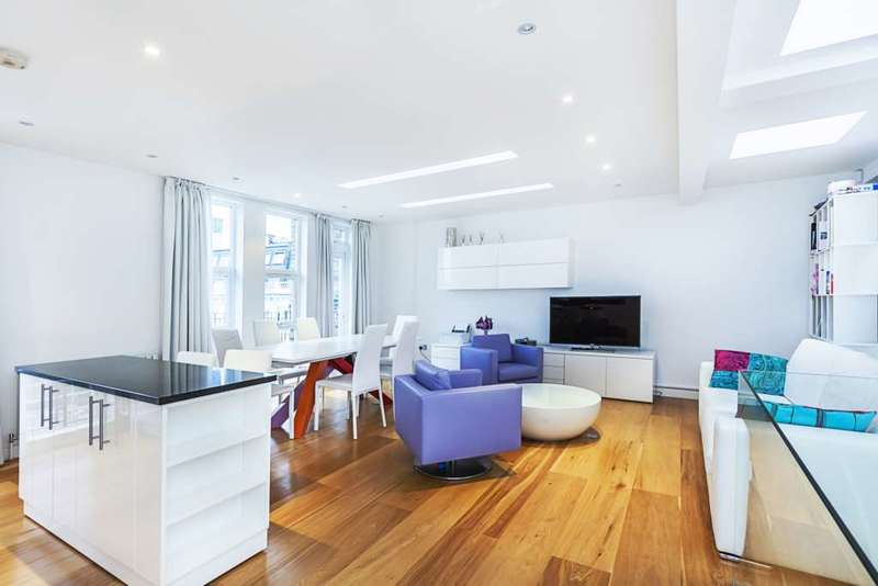 2 Bedrooms Apartment Flat for sale in Nevern Place, London