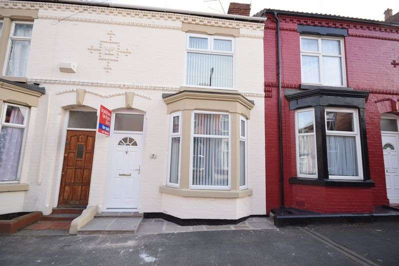 3 Bedrooms Terraced House for sale in Eldon Road, Rock Ferry