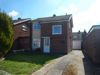3 Bedrooms Detached House for sale in Kensington Close, Oadby, Leicester, Leicestershire