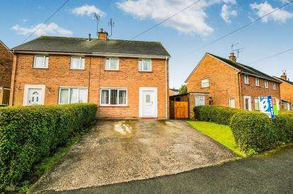 2 Bedrooms Semi Detached House for sale in Heol Bryniog, Coedpoeth, Wrexham, Wrecsam, LL11